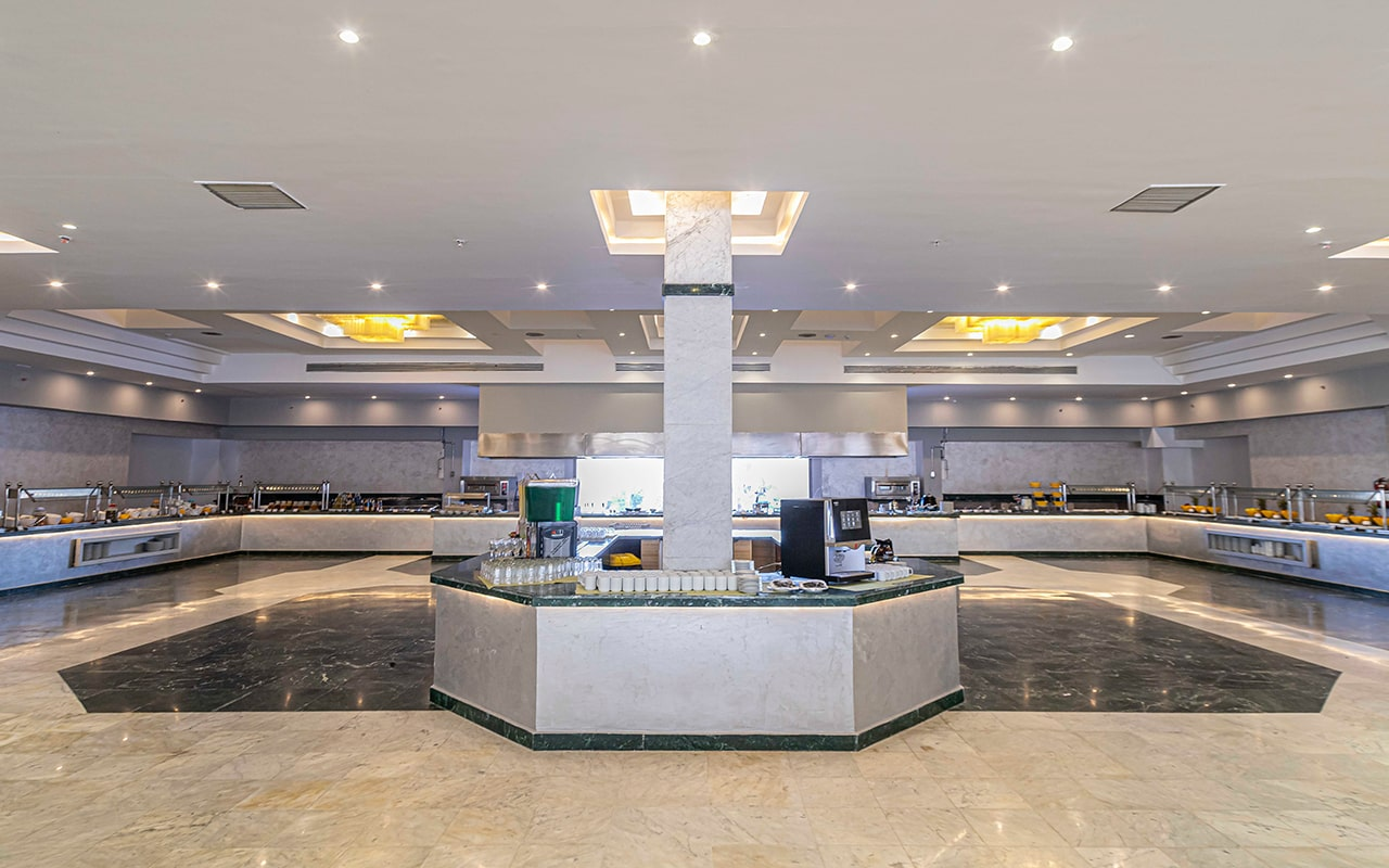 главный ресторан отеля Amarina Abu Soma Resort & Aquapark