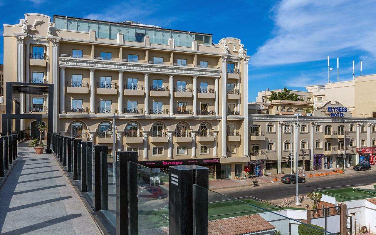 общий вид отеля Elysees Hotel Hurghada