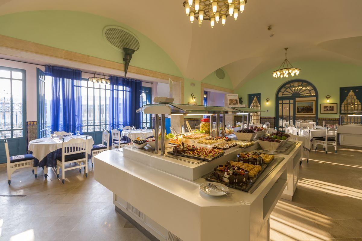главный ресторан отеля Medina Diar Lemdina