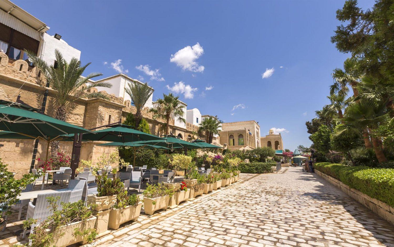 территория отеля Medina Diar Lemdina